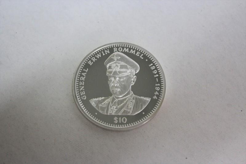 REPUBLIC OF LIBERIA Silver Coin $10 SILVER COIN