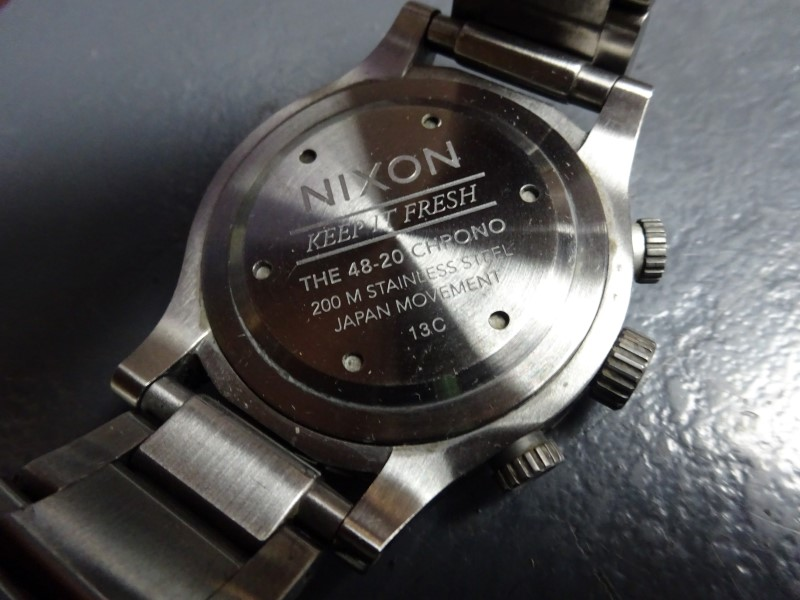 NIXON Gent's Wristwatch KEEP IT FRESH