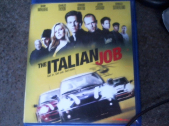 BLU-RAY MOVIE Blu-Ray THE ITALIAN JOB