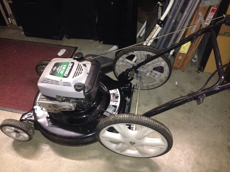"YARD MACHINES 22"" MOWER 6HP 11A-509N062"
