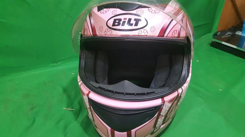 BILT Junior Motorcycle Helmet FF350 Pink Small