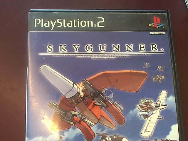 SONY PS2 SKYGUNNER GAME ONLY