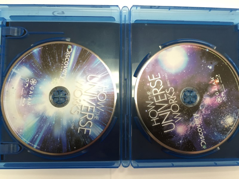 HOW THE UNIVERSE WORKS,  BLU-RAY MOVIE, GOOD CONDITION.
