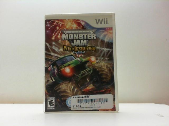 NINTENDO Nintendo DS Game MONSTER JAM PATH OF DESTRUCTION