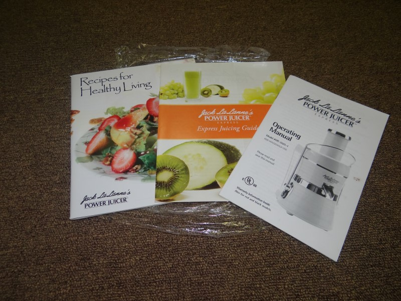 JACK LA LANNES POWER JUICER EXPRESS MT-1020-1