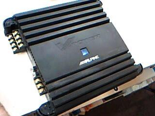 ALPINE ELECTRONICS Car Amplifier MRP-F300
