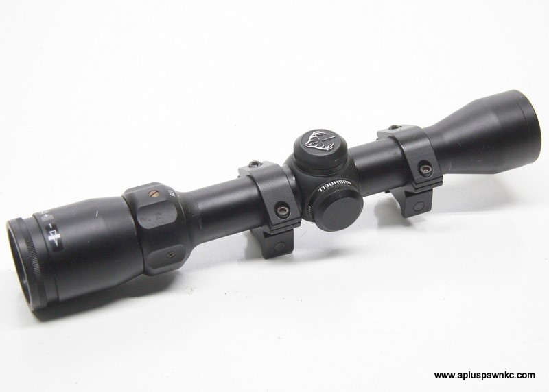 BUSHNELL Firearm Scope 73-1420 1.75-4X32 w Rings