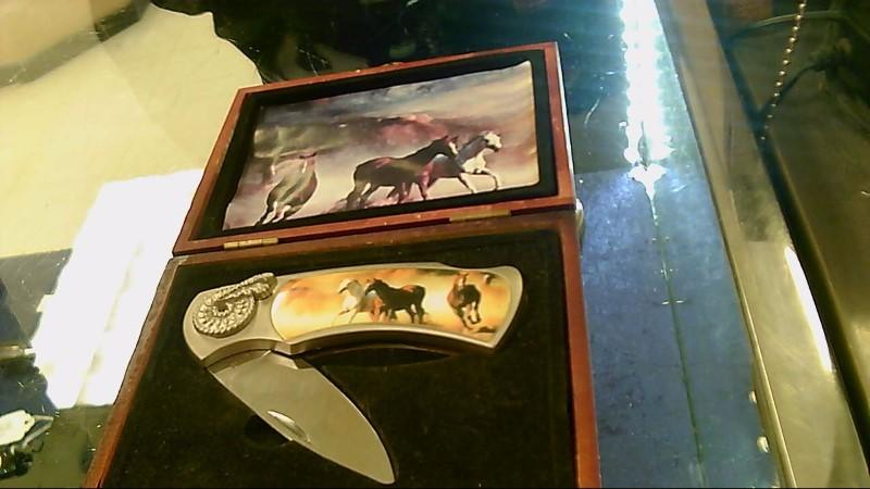 CHINA MADE KNIFE HORSES,CASE