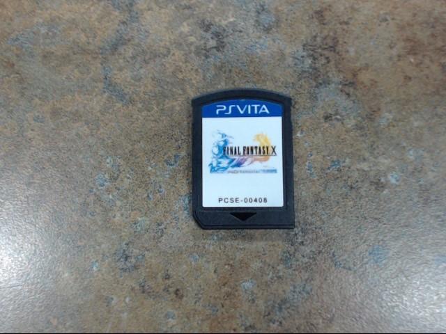 SONY Sony PS VITA Game PSVITA FINAL FANASTY X
