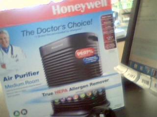 HONEYWELL Air Purifier & Humidifier HPA101-TGT