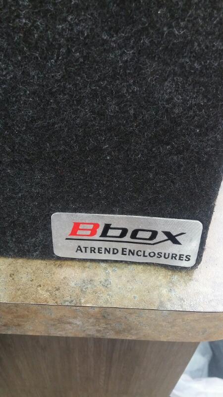 JBL Car Speakers/Speaker System ATREND E12DT BBOX
