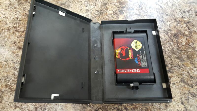 Mortal Kombat 1 (Sega Genesis, 1993) Original