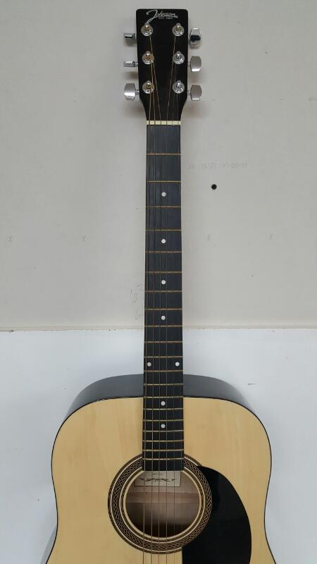 Johnson JG-610-N Steel String Acoustic Guitar