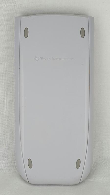TEXAS INSTRUMENTS Calculator TI-84 PLUS SILVER EDITION