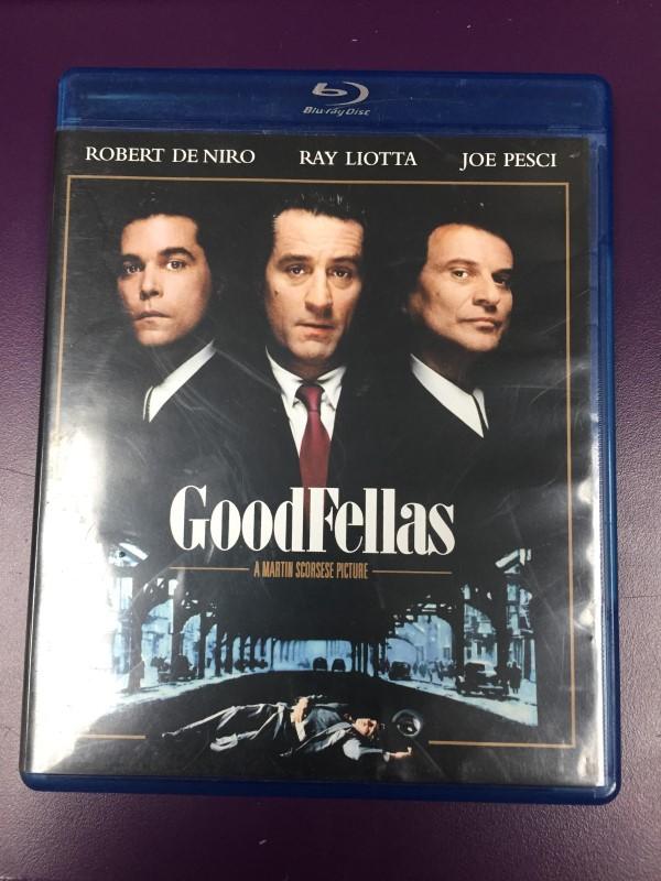 GOODFELLAS BLU-RAY MOVIE