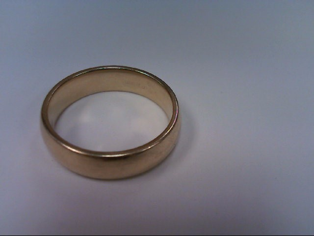 Gent's Gold Wedding Band 14K Yellow Gold 6.3dwt
