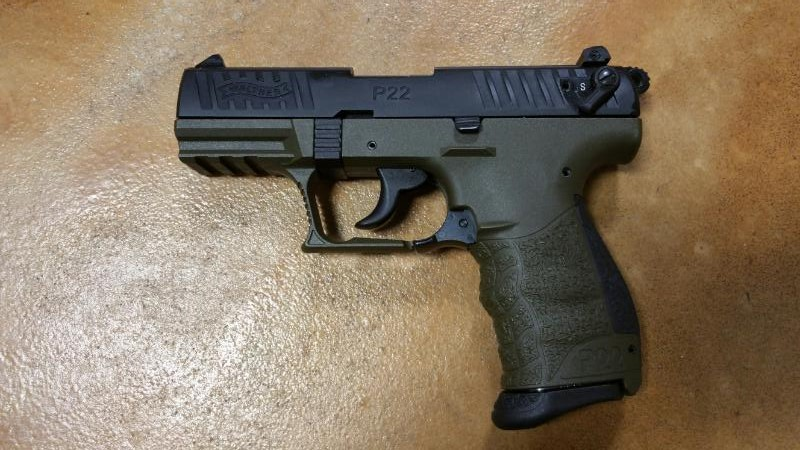 WALTHER ARMS Pistol P-22 (5120315)