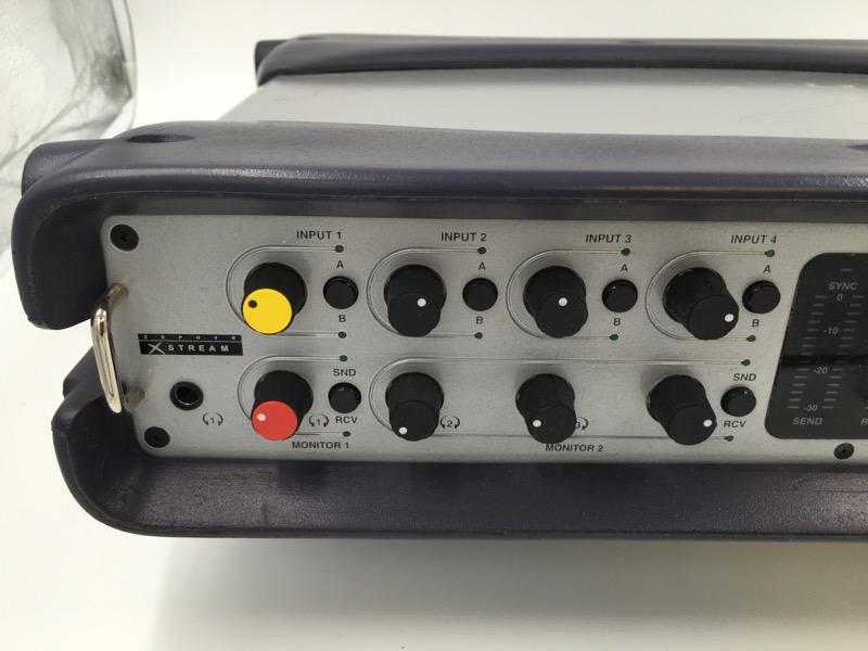TELOS ZEPHYR XSTREAM MX DIGITAL NETWORK ISDN CODEC TRANSCEIVER