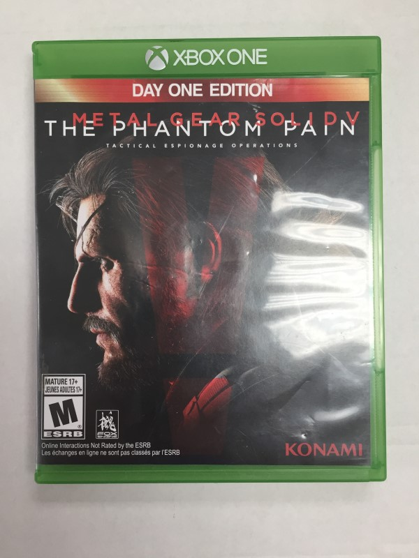 MICROSOFT XBOX ONE: METAL GEAR SOLID V: THE PHANTOM PAIN XBOX ONE