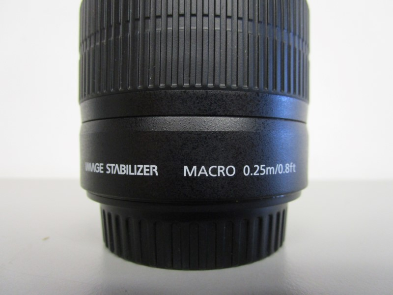 CANON ZOOM LENS EF-S 18-55MM IMAGE STABILIZER II