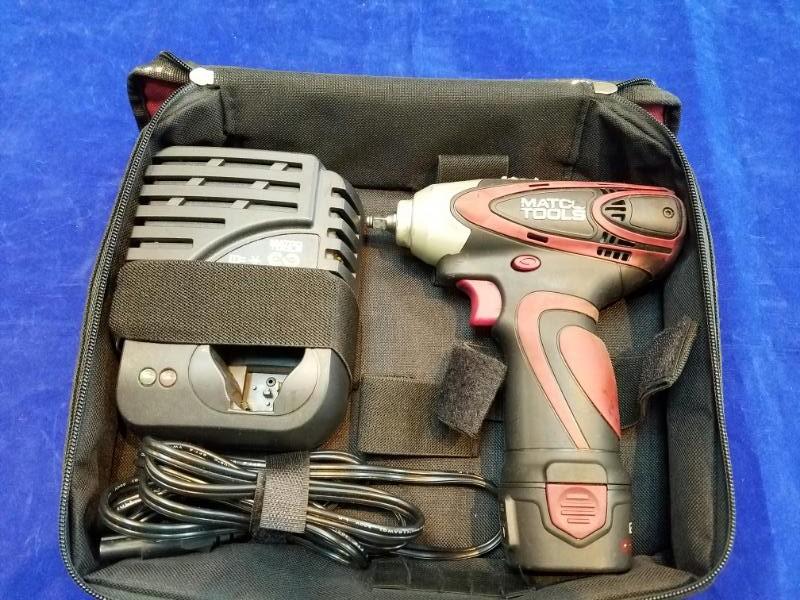 MATCO TOOLS Impact Driver MUC122IW w/ Carry Bag