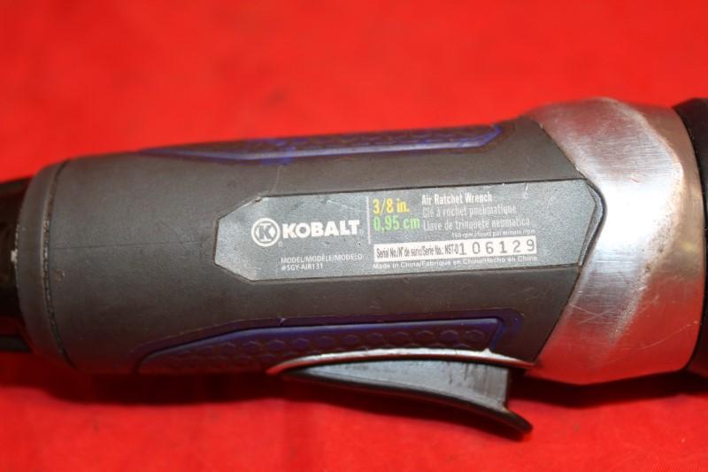 """Kobalt Tools SGY-AIR131 3/8"""" Dr Pneumatic Air Drill W/ Reverse Cushion Grip"""