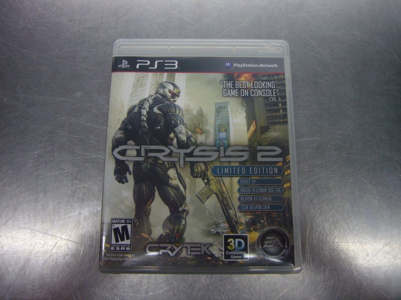 SONY PlayStation 3 Game CRYSIS 2