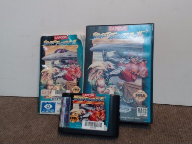 SEGA Sega Game STREET FIGHTER II SPECIAL CHAMPION EDITION
