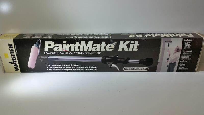 WAGNER PAINTMATE KIT A COMPLETE 9 PIECE SYSTEM