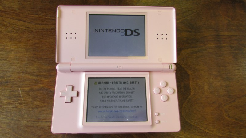 NINTENDO DS LITE PINK - CONSOLE ONLY