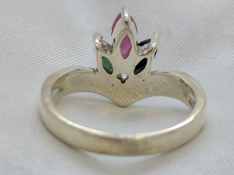 Lady's Silver Ring 925 Silver 4.7g