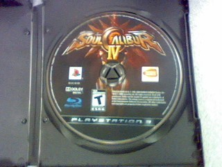 SONY Sony PlayStation 3 Game PS3 SOUL CALIBUR 4