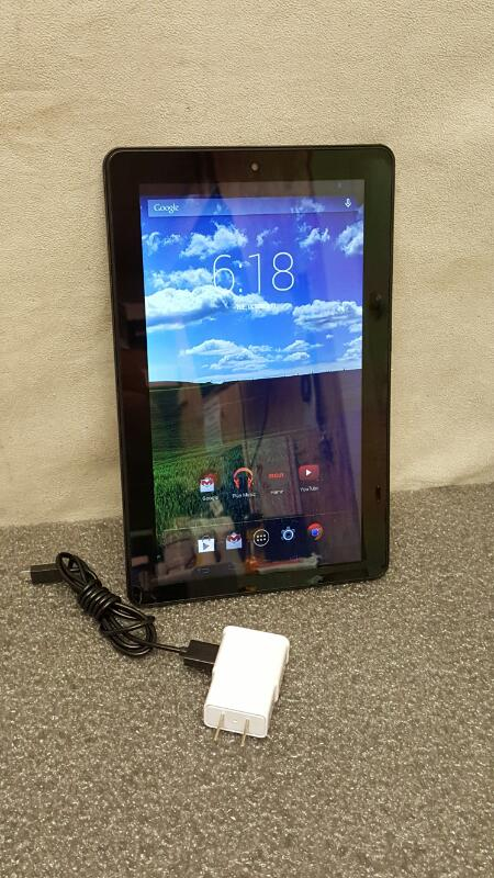 """RCA PRO10 Edition RCT6203W46 10"""" Tablet 16gb Black"""
