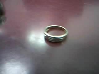 Gent's Diamond Fashion Ring 40 Diamonds .40 Carat T.W. 10K Yellow Gold 3.6g