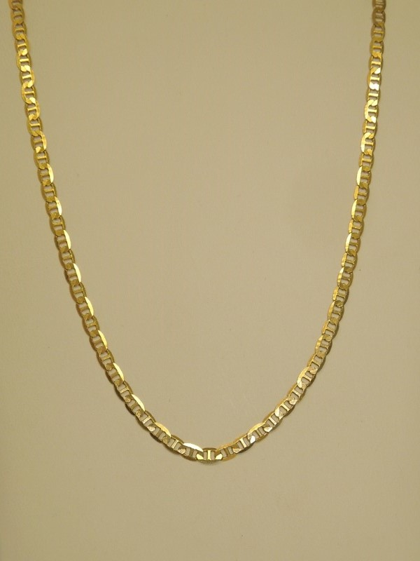 """18"""" Gold Link Chain 10K Yellow Gold 4.9g"""
