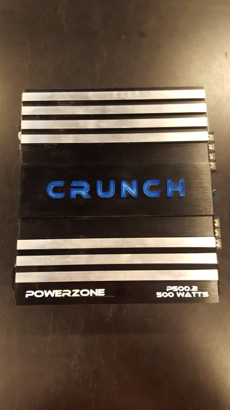 CRUNCH AUDIO Car Amplifier POWERZONE