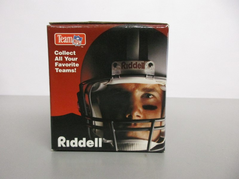 CHAD HENNINGS SIGNED 1995 RIDDELL MINI HELMET