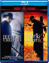 BLU-RAY MOVIE Blu-Ray DOUBLE FEATURE: JEEPERS CREEPERS 1 & 2