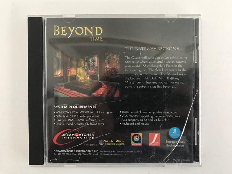 MICROSOFT PC BEYOND TIME 2 DISC SET **READ DISCRIPTION**