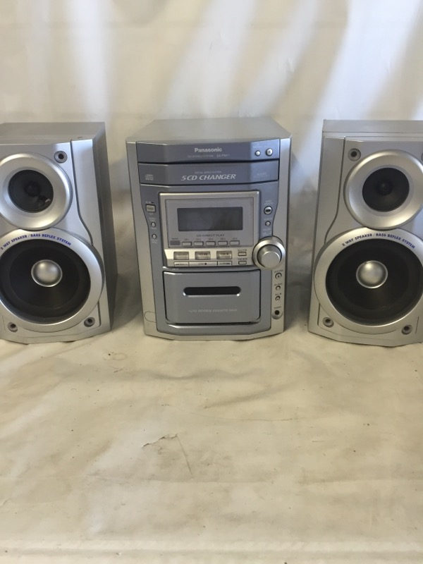 PANASONIC CD/TAPE DECK STEREO SA-PM11