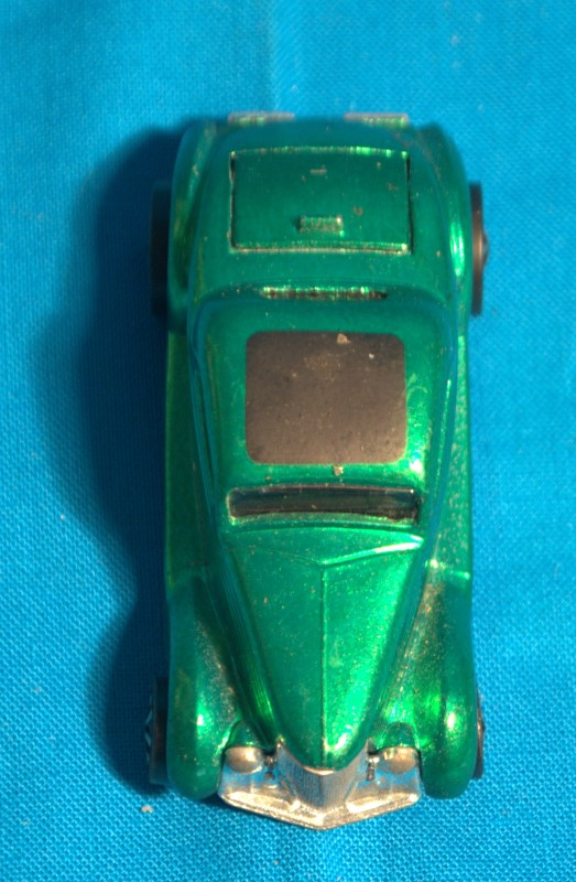 Mattel Hot Wheels 1968 Classic 36 Ford Coupe Green