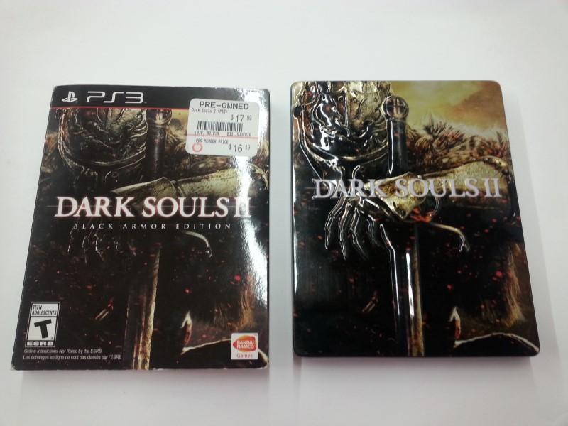 Dark Souls 2 - Black Armor Edition