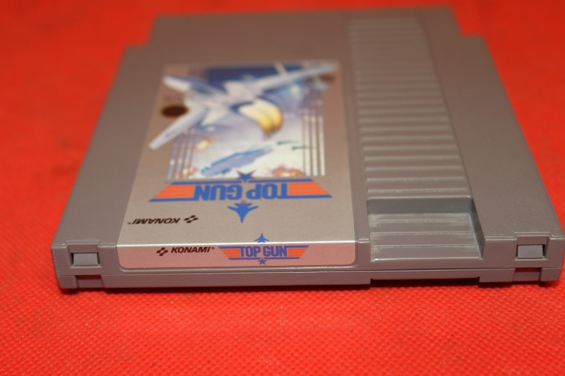 Top Gun (Nintendo, NES) - Cart only
