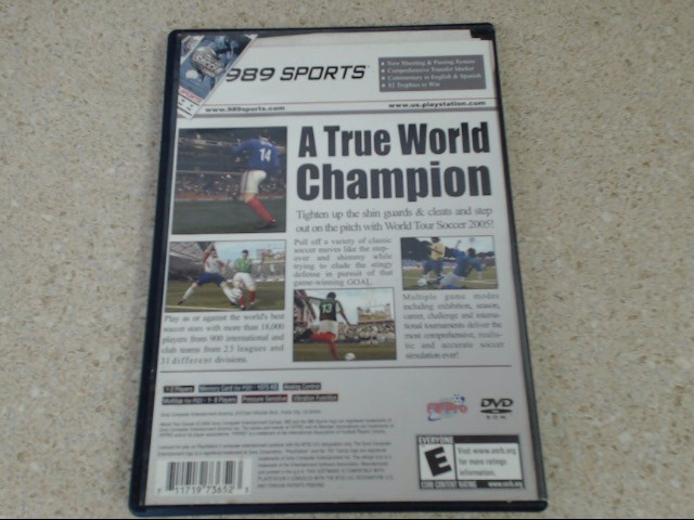 World Tour Soccer 2005 (Playstation 2) PS2