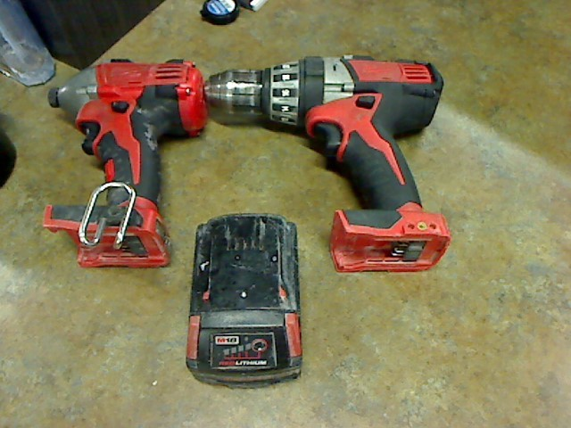 MILWAUKEE Combination Tool Set 2650-20 2602-20 COMBO