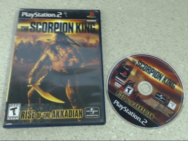 THE SCORPION KING RISE OF THE AKKADIAN - PS2 GAME