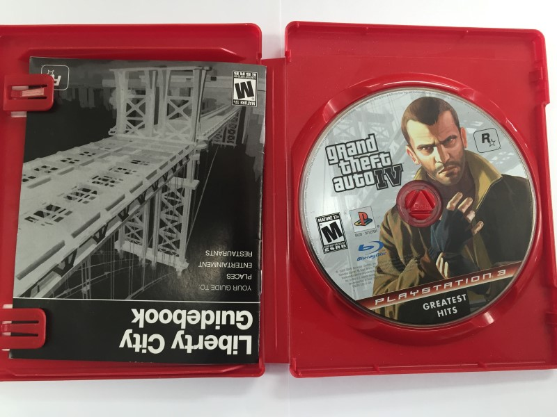 Grand Theft Auto IV : Greatest Hits (Sony PlayStation 3, 2008)
