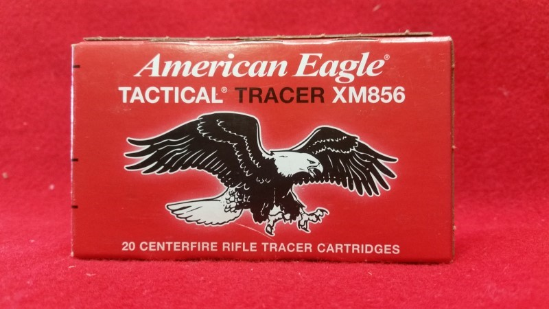 Federal XM856 5.56 64gr Tactical Tracer 20rd Box