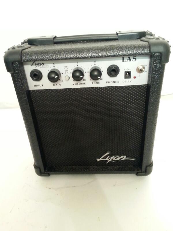 LYON BY WASHBURN LA5 GUITAR AMP]
