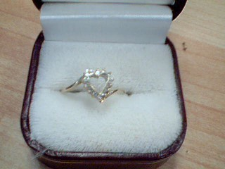 Lady's Diamond Solitaire Ring 14 Diamonds .42 Carat T.W. 10K Yellow Gold 1.6g